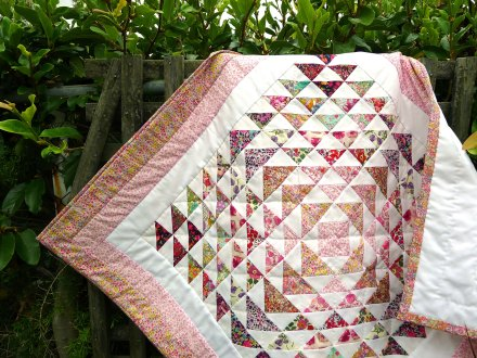 daisy quilt 1