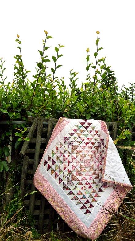 daisy quilt 4